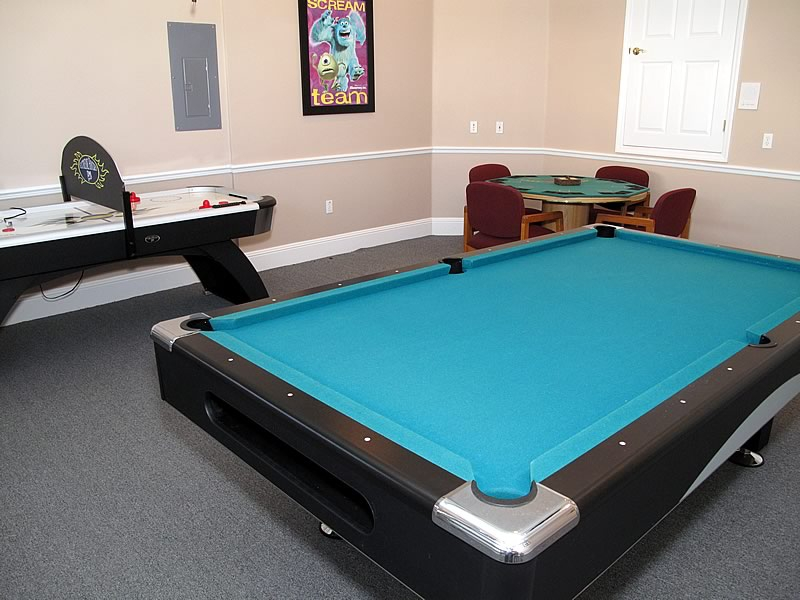 Orlando Villa Pool Table