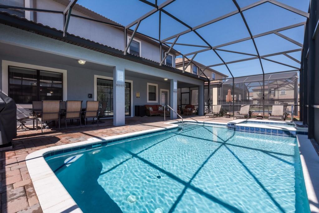 7 Bedroom 5 Star Platinum Champions Gate Resort Villas